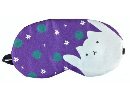 Maska na oči na spaní Kočka