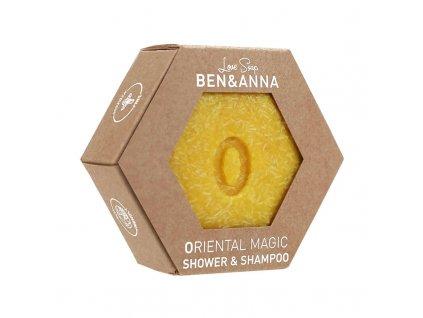 Ben & Anna tuhý šampon a sprchový gel oriental magic