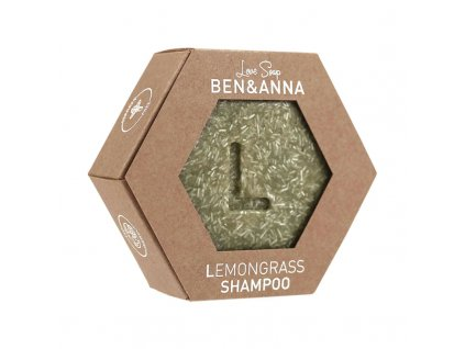 Ben & Anna tuhý šampon lemongrass