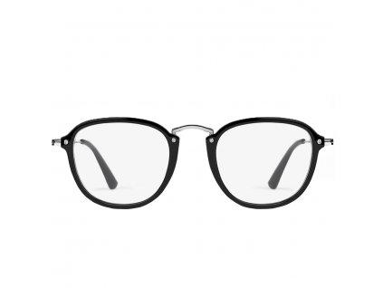 D.Franklin roller sq brýle proti modrému světlu černé