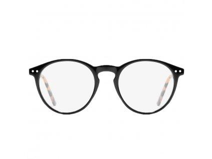 D.Franklin brýle proti modrému světlu Ultra light max černé