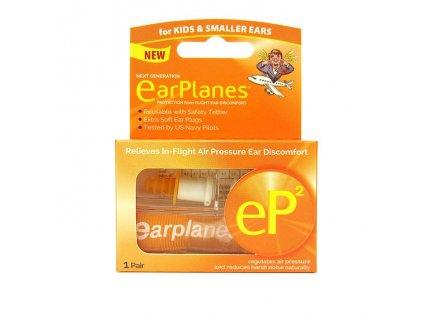 Cirrus EarPlanes eP2 Špunty do uší do letadla pro děti