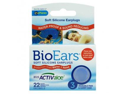 Cirrus BioEars Silikonové špunty do uší na plavání 2