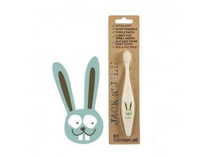 Jack N' Jill zubní kartáčky pro děti Zajíc balení