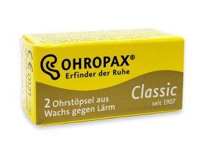 Ohropax Classic 1 pár voskové špunty do uší