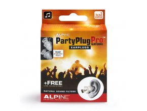 Alpine PartyPlug Pro Natural packshot