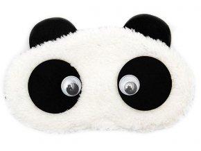 Panda Pohyblivé oči Maska na oči na spaní Earplugs cz