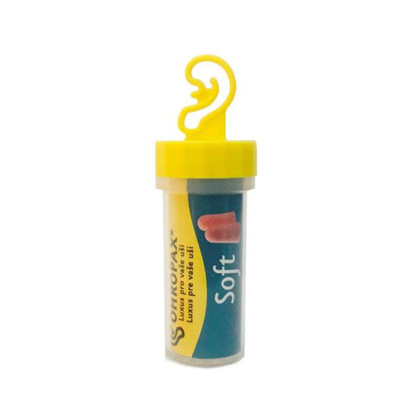 Ohropax Soft 1 pár Špunty do uší Balení: Plastové pouzdro