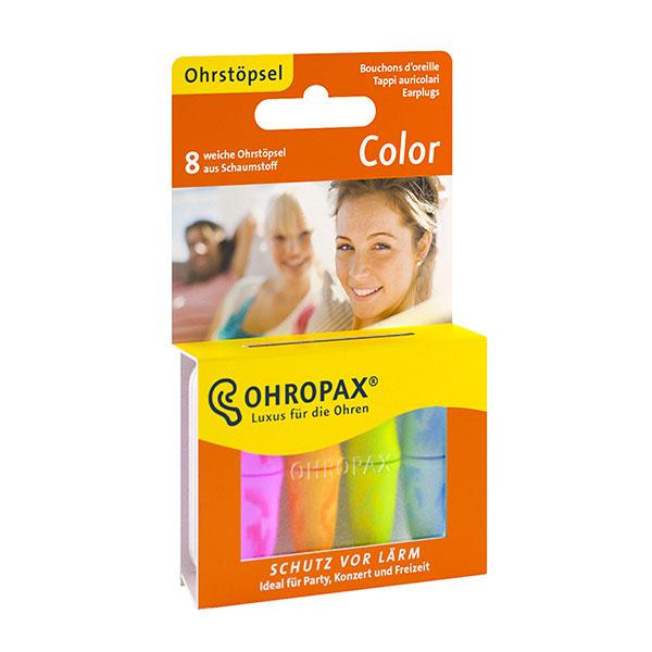 Ohropax Color 4 páry Špunty do uší