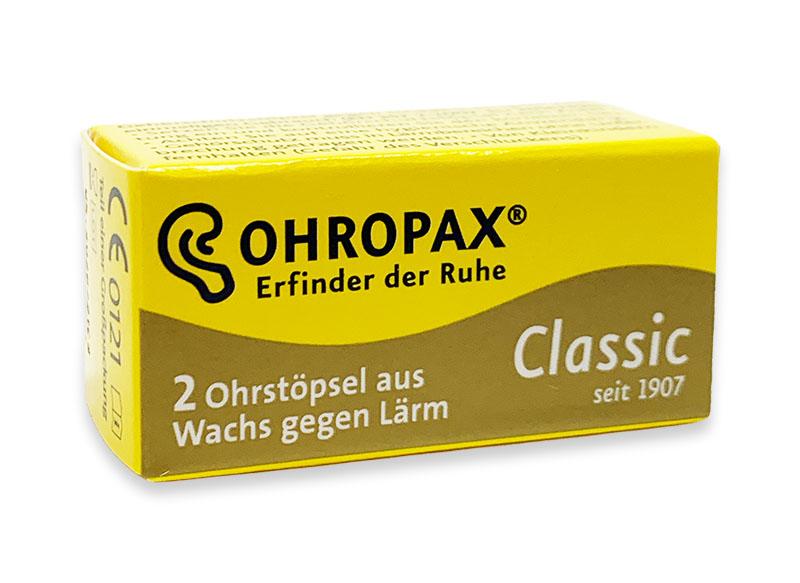 Voskové Špunty do uší Ohropax Classic 1 pár