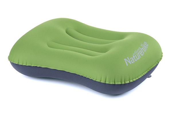 Naturehike Aeros Zelený Cestovní nafukovací polštářek