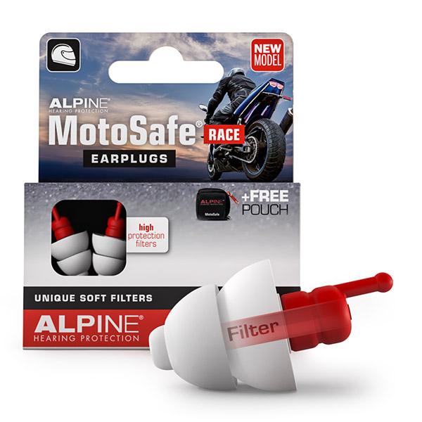 Alpine MotoSafe Race Špunty do uší na motorku