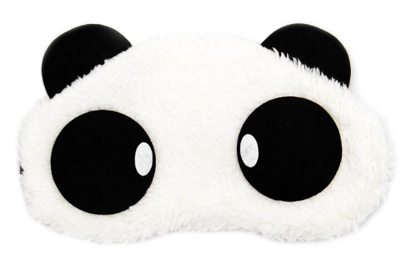 Panda Oval Maska na oči na spaní
