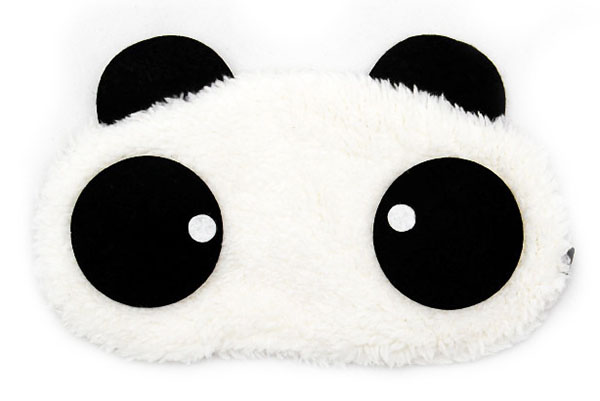 Panda Kolečko Maska na oči na spaní