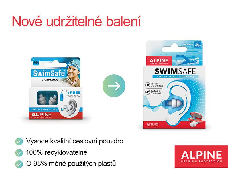 Alpine SwimSafe plavecké ucpávky 1 pár