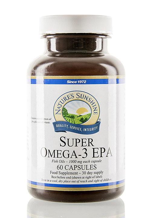 Super Omega 3 EPA 60 kapslí Nature's Sunshine