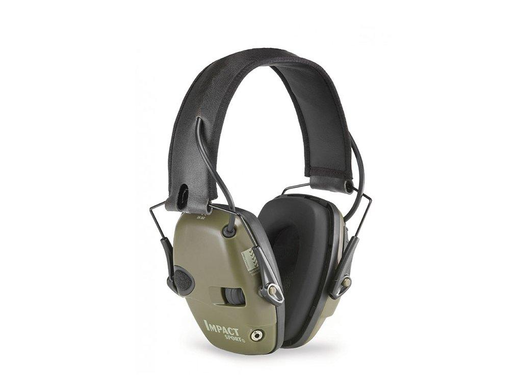 Howard Leight hallásvédő Impact Sport zöld