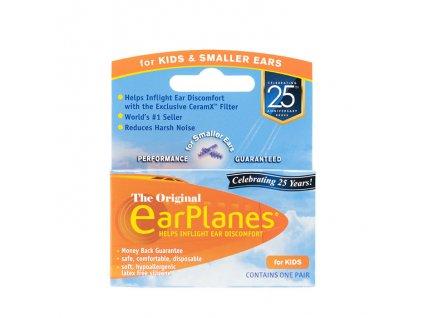 Cirrus earplanes špunty do uší do letadla pro děti original for kids