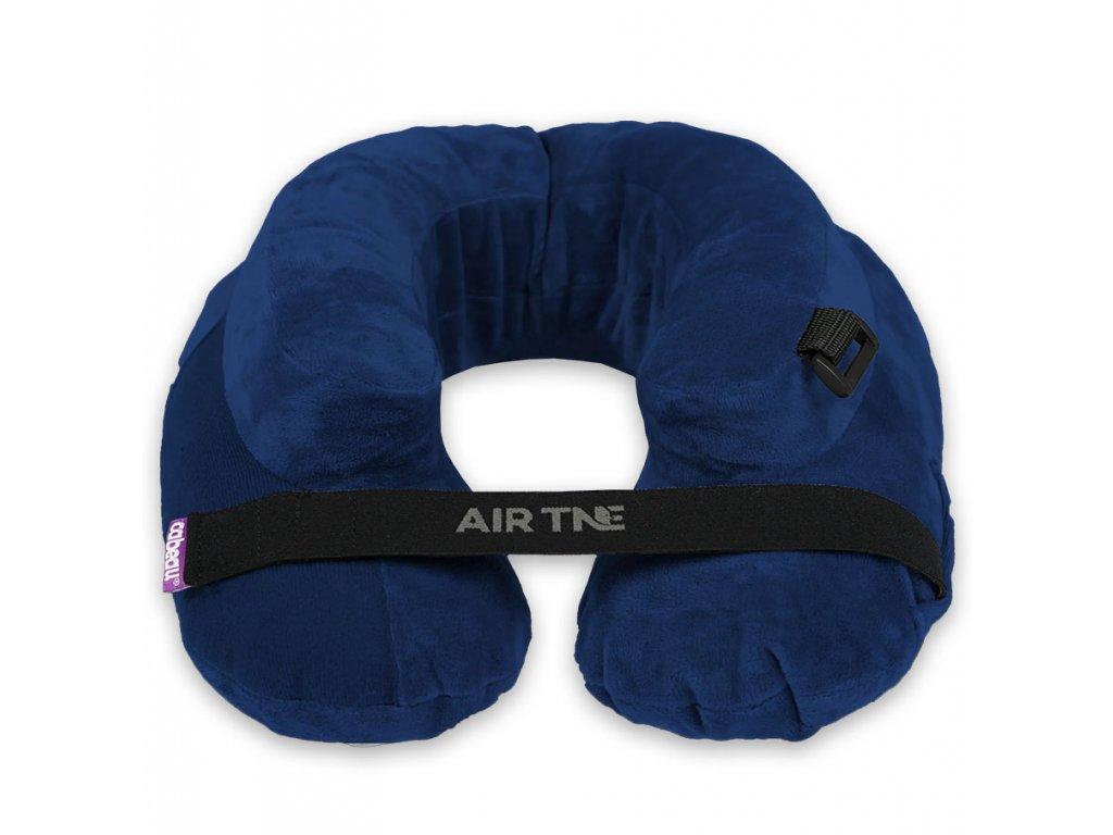 Cabeau cestovní nafukovací polštářek Air Evolution Modrý s pouzdrem