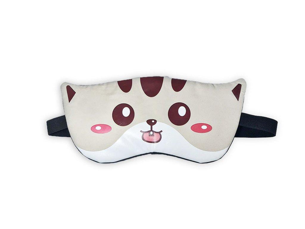 Maska na oči na spaní Kotě