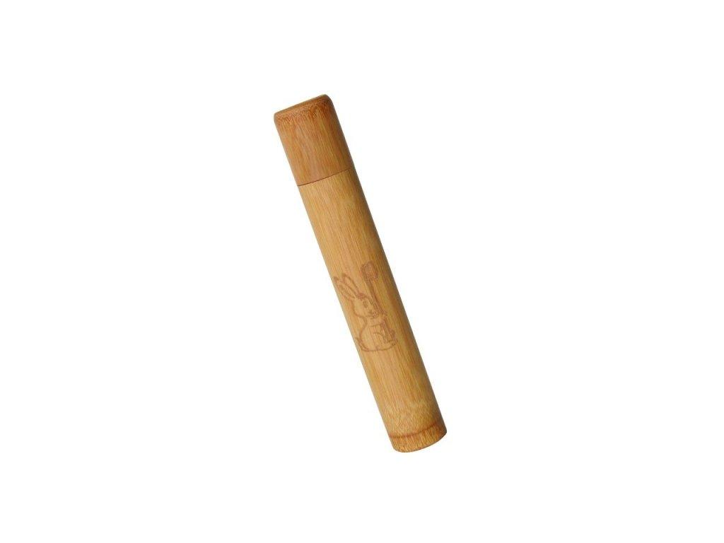 Bambusové pouzdro na kartáček pro děti Curanatura Junior