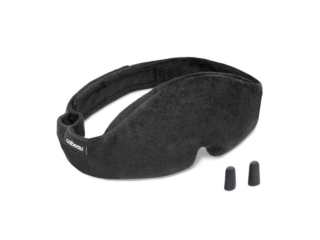 Černá maska na spaní Cabeau Midnight Magic