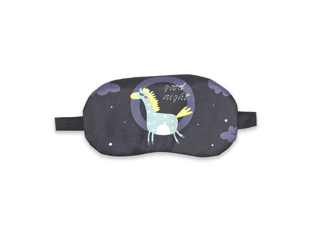 Maska na oči na spaní Kůň