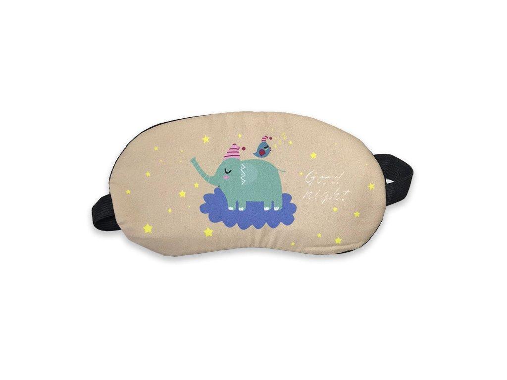 Maska na oči na spaní Slon