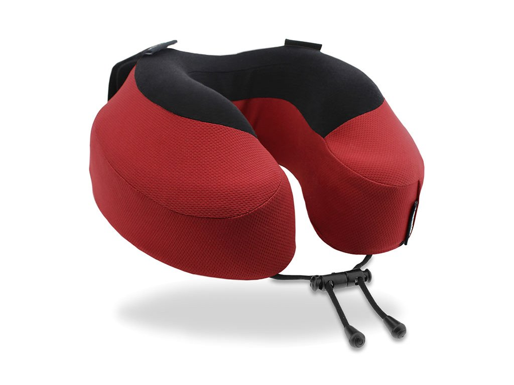 Cabeau Evolution S3 Cardinal cestovní polštář z úhlu