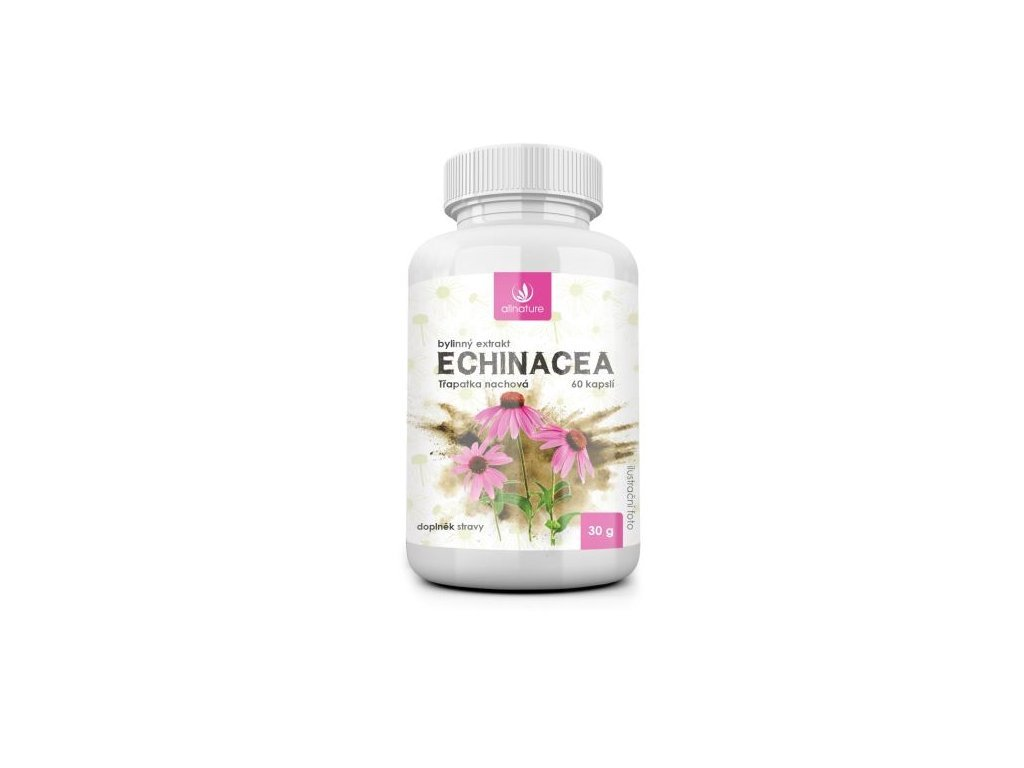 1946 allnature echinacea bylinny extrakt 60 cps