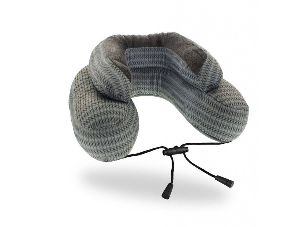 Cabeau Evo Microbead cestovní polštář z mikrokuliček Grey Arrow