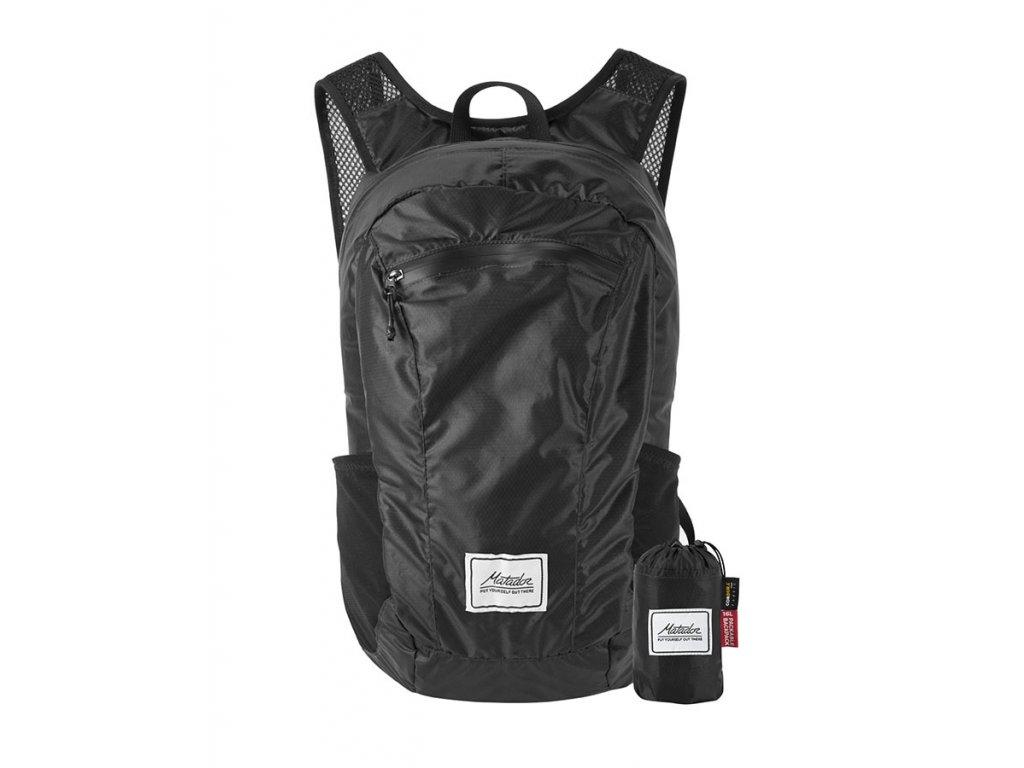 Matador skládací městský batoh DL16 černý s pouzdrem