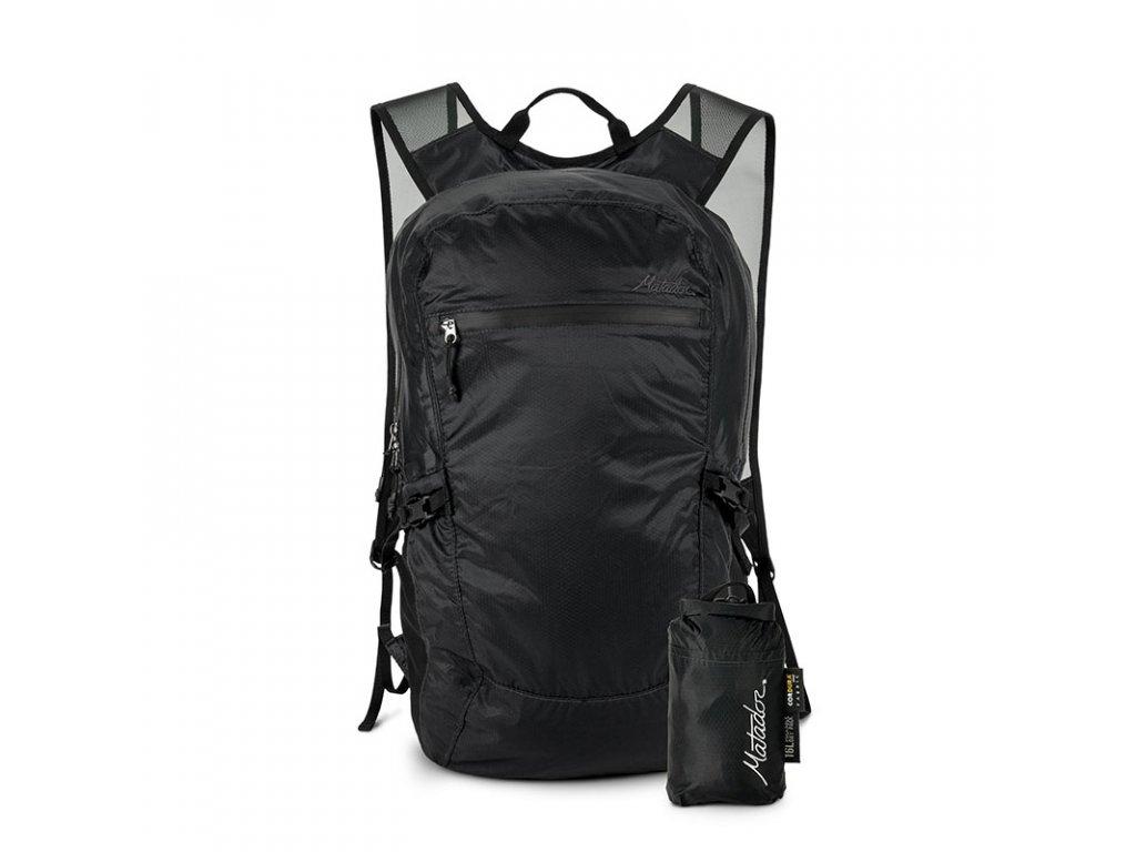 Matador skládací cestovní batoh Freefly16 černý