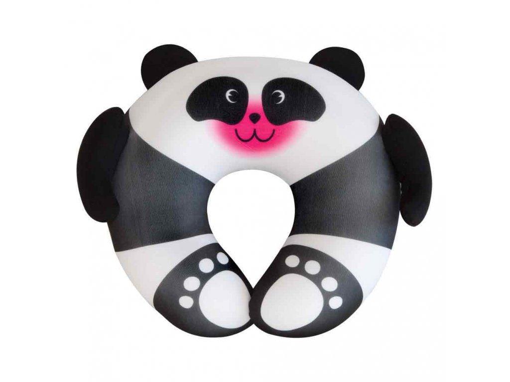 TravelBlue Dětský cestovní polštář Panda předek