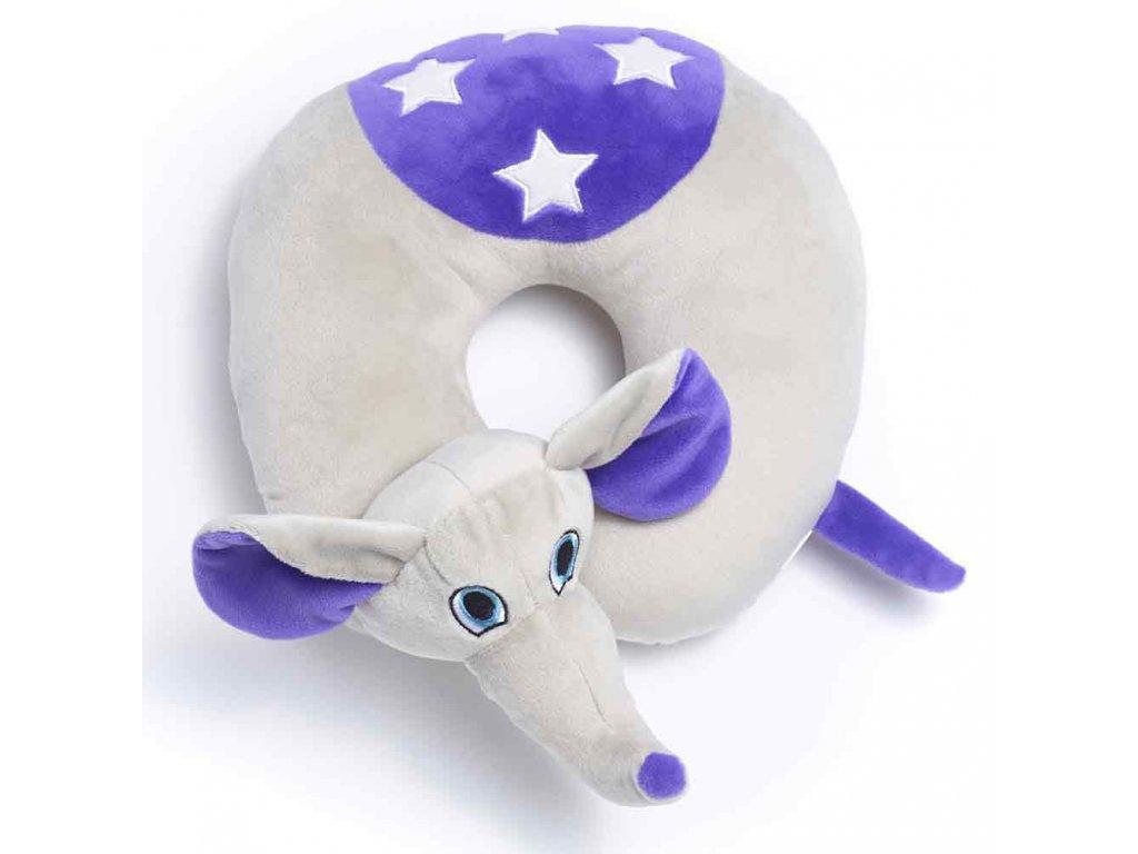TravelBlue Dětský cestovní polštář Slon Flappy
