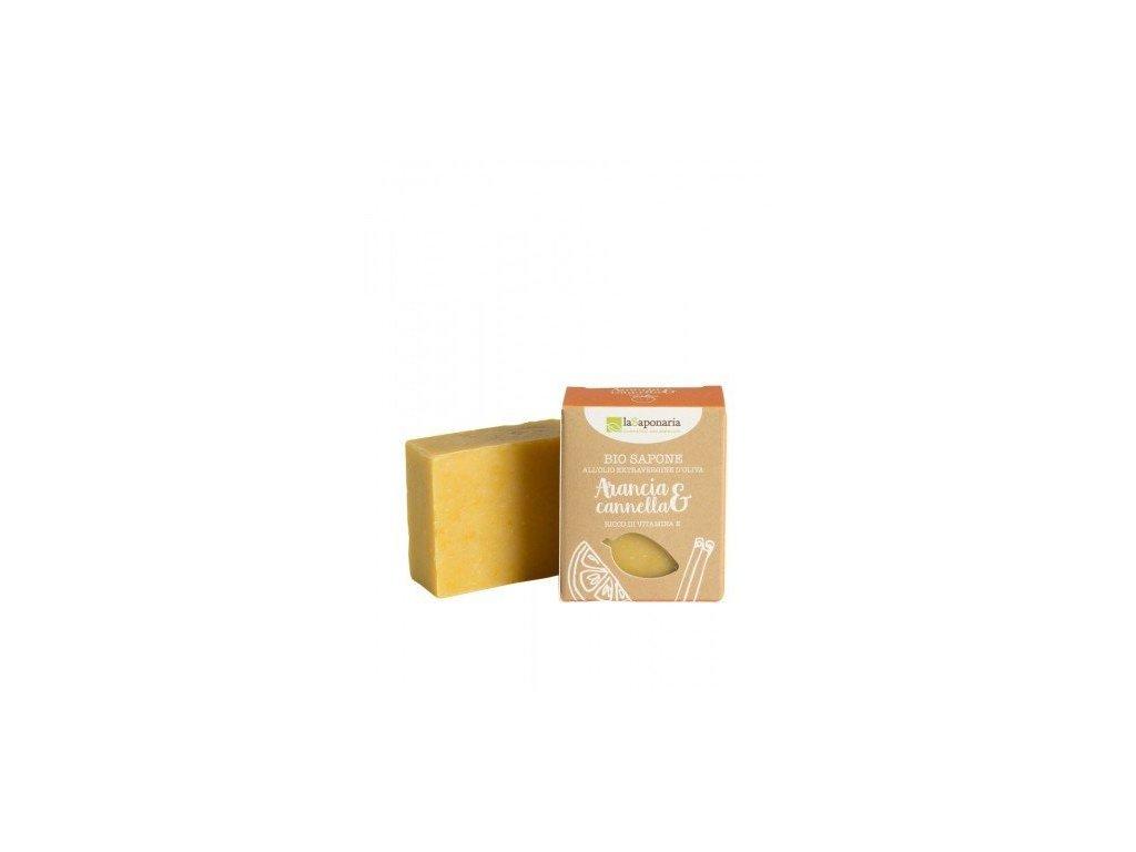 laSaponaria mýdlo pomeranč a skořice