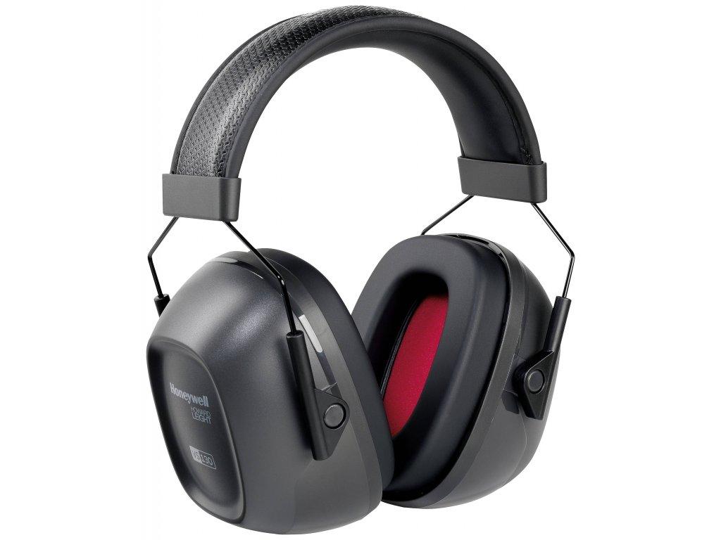 Howard Leight mušlové chrániče sluchu Verishield VS 130HV neonová barva