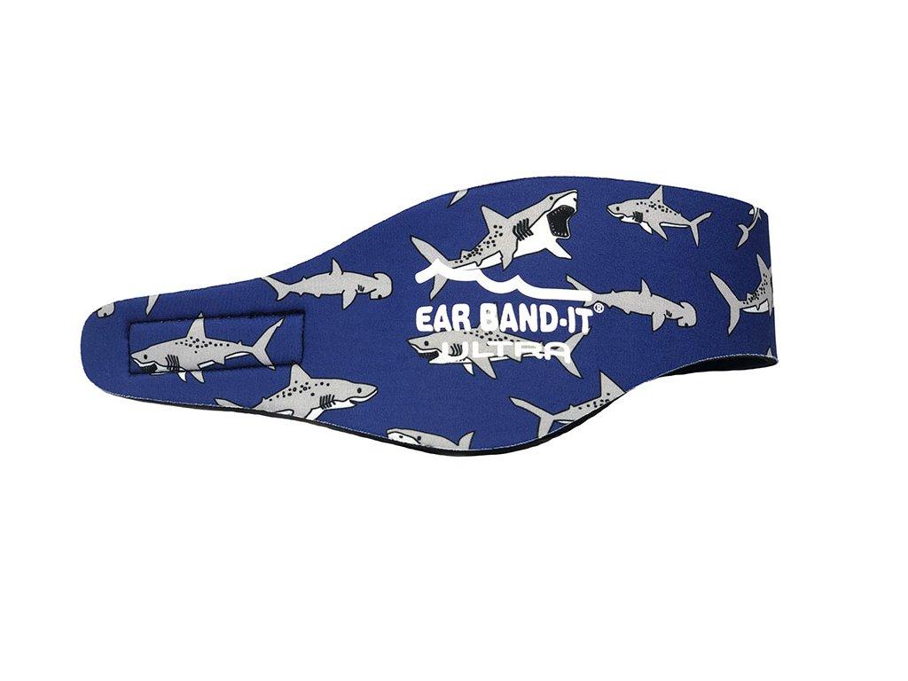 Ear Band It Ultra čelenka na plavání pro děti žraločí