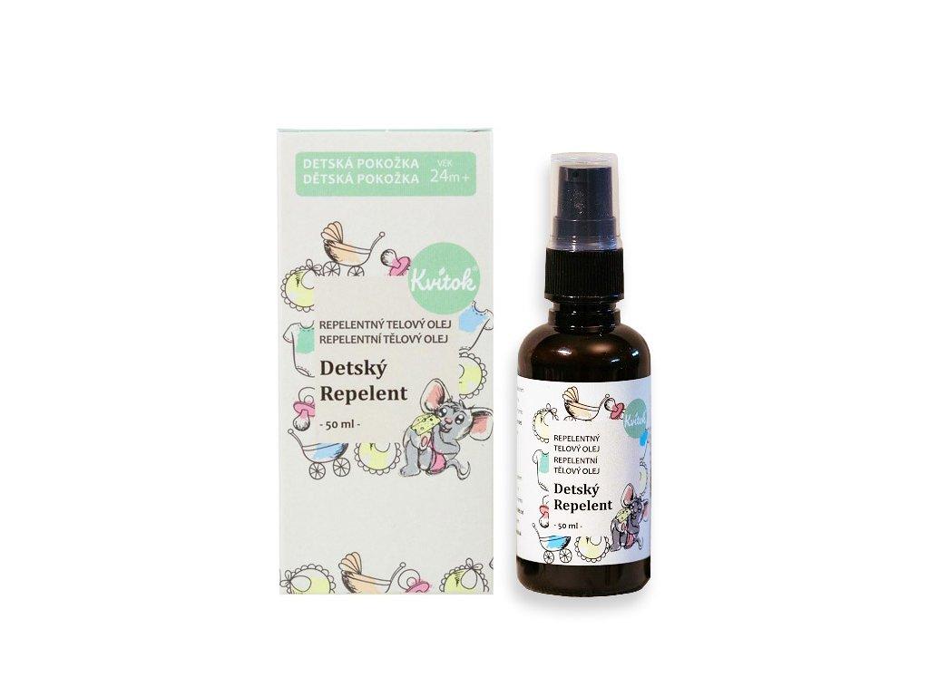 Kvitok dětský repelentný olej
