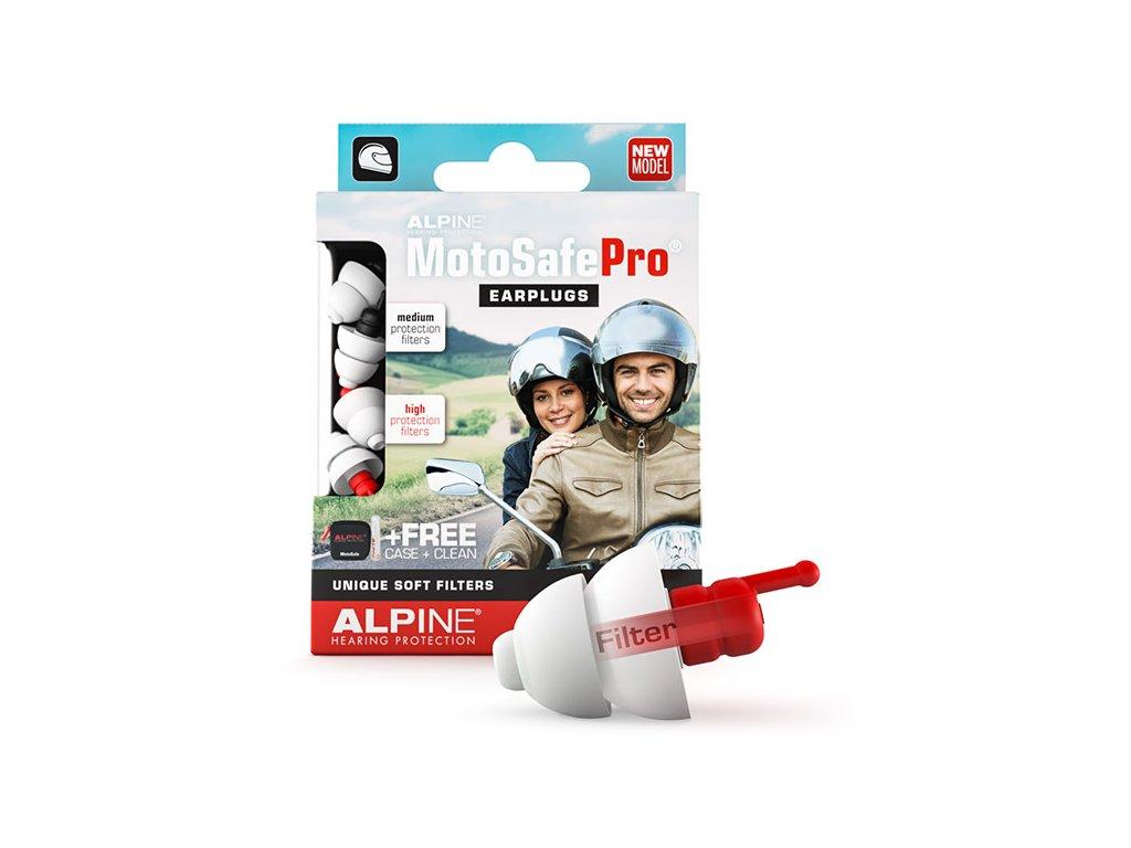 Alpine MotoSafe Pro balení