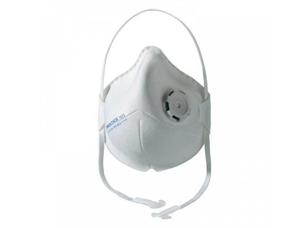 Respirátor FFP2 Moldex Smart portable 2475 s ventilem