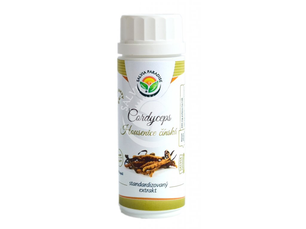 Salvia Paradise Cordyceps standardizovaný extrakt 100 kapslí