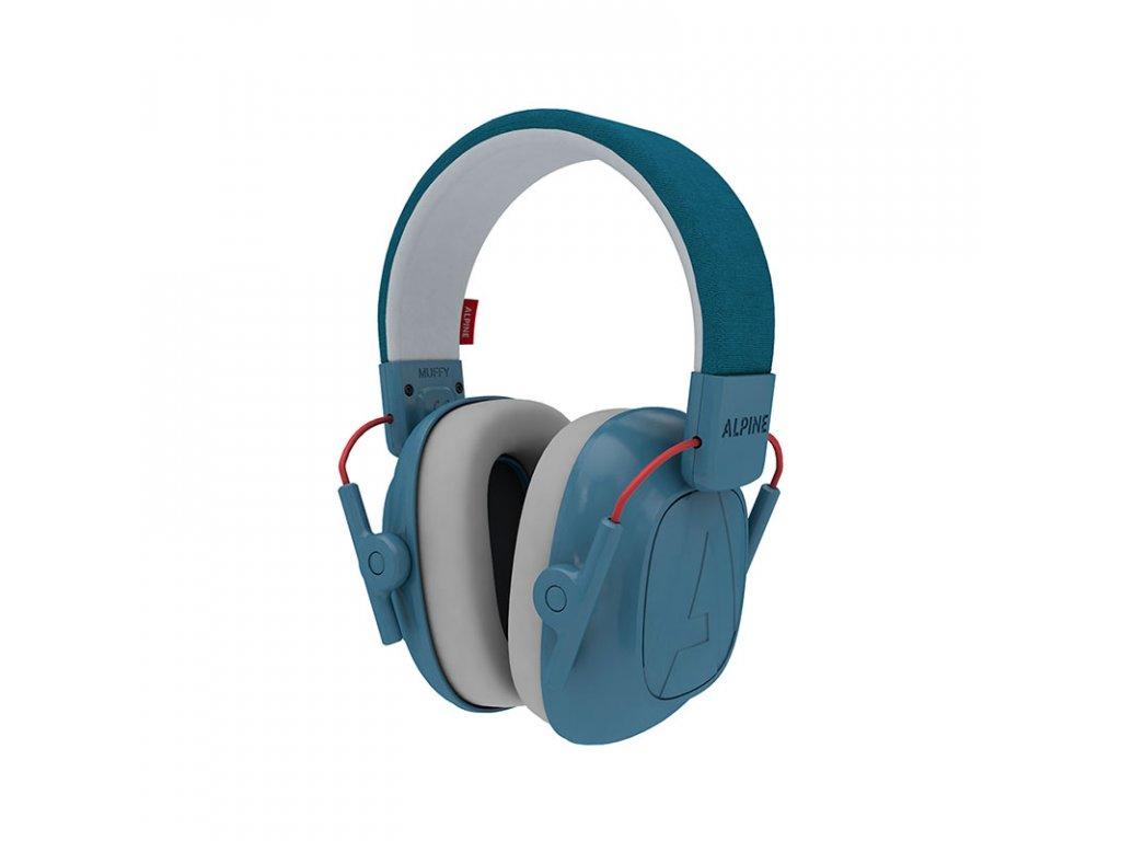 Alpine Muffy Modrá chrániče sluchu