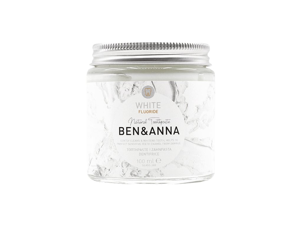 Ben and Anna pasta white s fluoridem