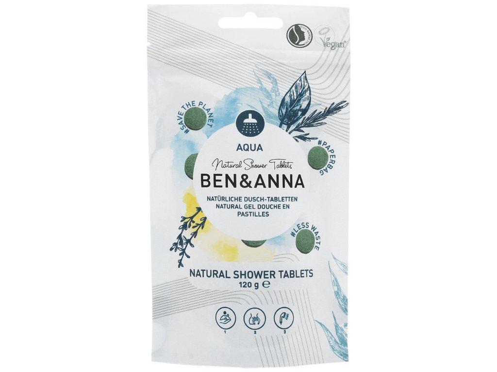 Ben a anna sprchovací tablety aqua