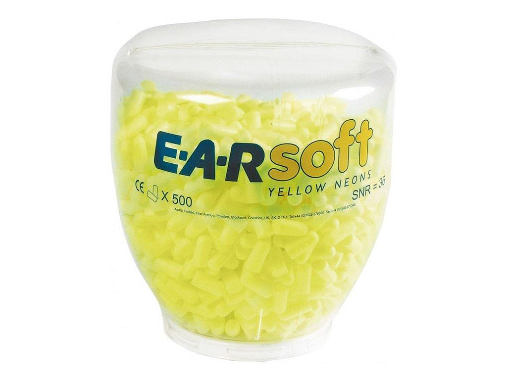 3M EAR Soft Neon Nádoba k dávkovači 500 kusů 2