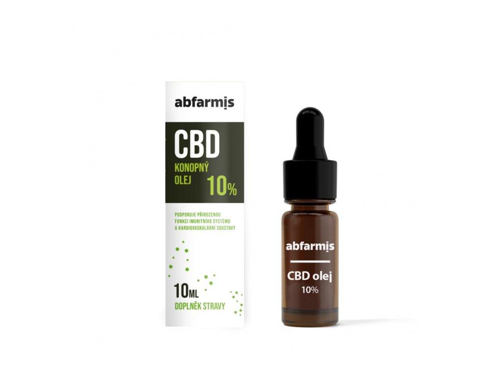 abfarmis cbd olej 10 10 ml