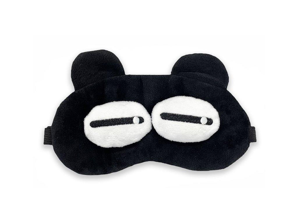 Maska na oči na spaní velké bílé oči