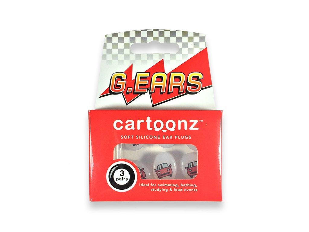 Cartoonz G.Ears Silikonové špunty pro děti