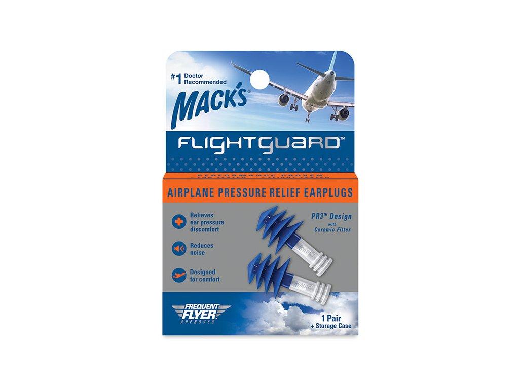 Mack's Flightguard špunty do uší do letadla